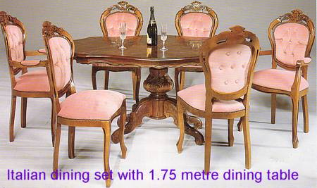 Home Dining Room Glass Tabledining Chairs 1set